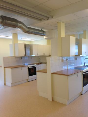 Four new kitchens for Home economics