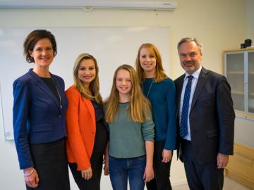 Alliance Leaders Visit IES Uppsala